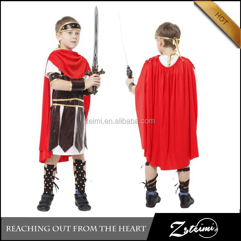 Hercules Roman Soldier Warrior Gladiator Deluxe Halloween Cosplay Costume