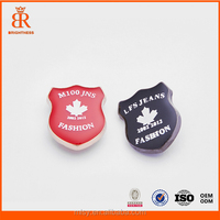 Custom made metal plates brand clothes logo