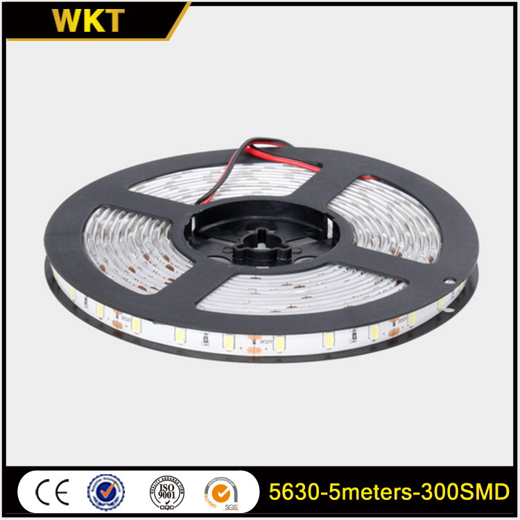 Top level hot sale 5630-300SMD edge lit high power led strip light