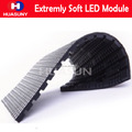 Rubber extremly flexible led screen module
