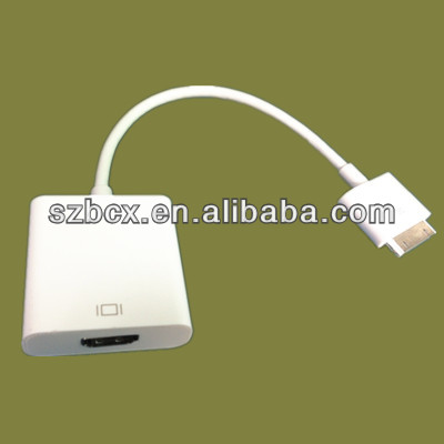 For apple ipad 3 Dock connector to HDMI Adapter