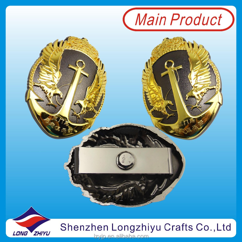Factory Supply Gold Eagle Car Logo Badge Emblem For Cars