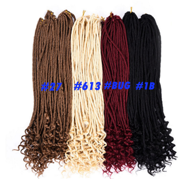 New Design 20'' Senegalese Crochet Hair Braiding Pre-Twisted Hair Afro Twist Braids