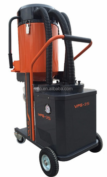 High Quality Single-phase Dust Extractor Vacuum Cleaner with HEPA 13 Filter and Anti-static Hoses