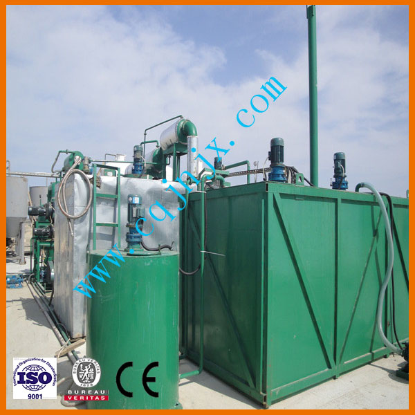Hot Sale To Europe High Oil Recovery Rate Used Waste Oil Recycling Machine