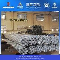 q235 material properties ! zn coated steel tube 4mm pre zinc coated galvanized pipe