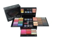85 Color PRO Makeup Set Eyeshadow Palette Blush Lip Gloss Glitter Powder Concealer Eye Pencil + Brush Beauty Cosmetics