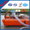 Mini scale alluvial gold suction dredge used for gold recovery