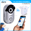 CE/FCC approved IP66 waterproof home security products wireless doorphone video doorbell camera