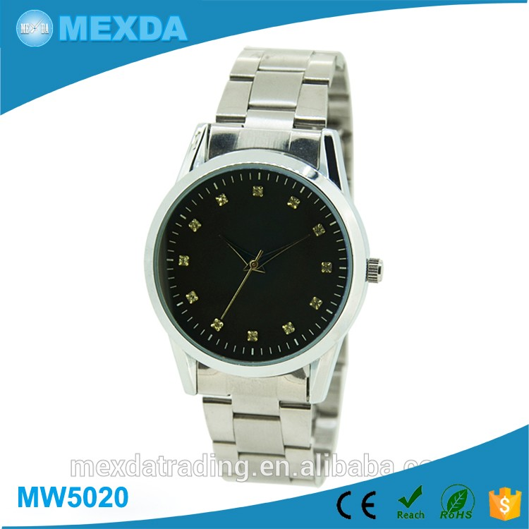 OEM Chinese Manufacturer Custom Face Elegance Steel Watch For Mens