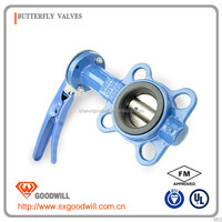 cast iron worm gear operated butterfly valves