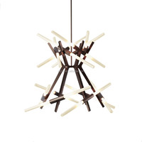 Decorative chandelier hanging interior lights modern glass chandelier