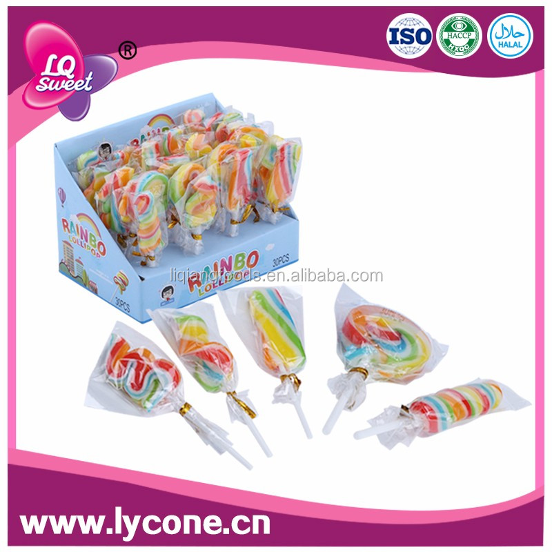 High quality round flat wholesale lollipop