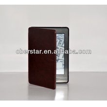 Hot Selling Ultra Thin Smart Cover Flip Leather Case for Amazon Kindle Paperwhite