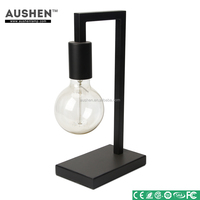 Wholesale supplies five star holiday inn indoor decor rubber wood table lamp