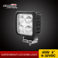 Sanmak Best Quality led worklight 40 watt wholesale CE RoHS off road led flood lights auto led work light auto lighting factory