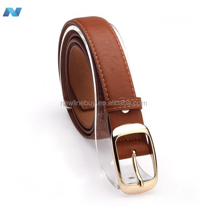 Fashion Women's leather metal belts Girls Fashion Accessories