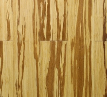 Wide board!!! Carbonized and natural mixture-tiger strand woven bamboo flooring!!!