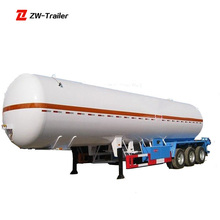 Sale Butane Gas Tank Trailer Liquid Gas Heavy 3 Axles LPG Semi Trailer