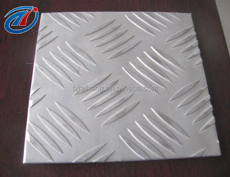Factory price aluminum checked plate best quality 3003 Embossed Aluminum sheet