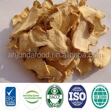 Dried Split Ginger Ginger Slice Dried and Frozen Ginger Slices with Good Quality