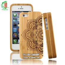 Hot Selling Items 2016 Bamboo Cell Phone Case For iPhone 6 Plus Cover.