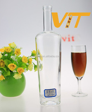 High quality glass beverage bottles wholesale 500ml glass bottle empty glass liquor bottle