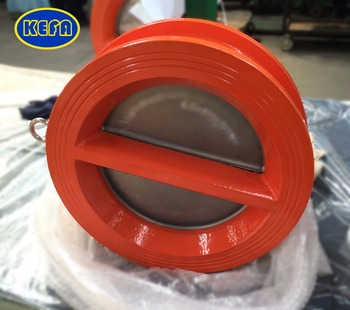 KEFA SS304 wafer flap spring check valve FOR nature gas