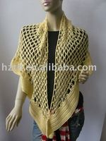 lady's crochet shawl