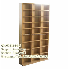 Modern cheap wooden CD rack,CD shelf,CD display rack