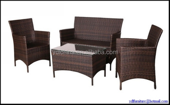 SGS tested high quality outdoor resin wicker furniture set YKD-01