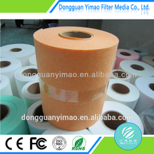 Nonwoven fabric raw material, nonwoven fiber roll