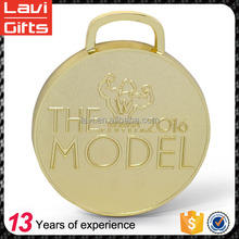 Factory price custom trendy metal heavy gold medal