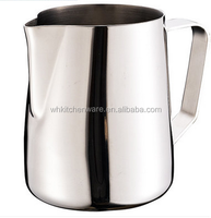 350/600/1000ML 20 Gauge 18/10 teflon pitcher stainless steel milk jug