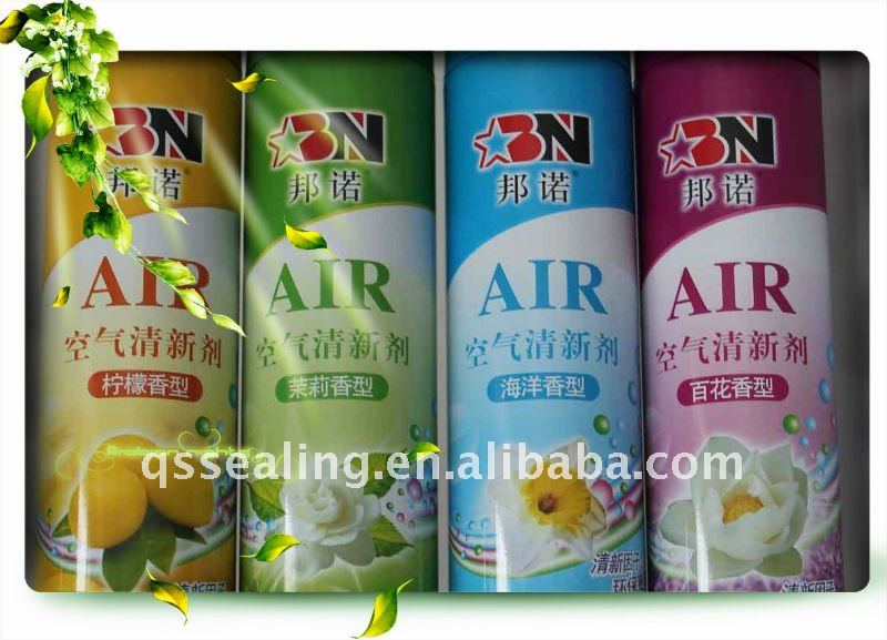 silicone lubricants empty aerosol tin can factory with OEM logo print