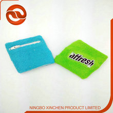 Runner Use Wristband With Zipper Pocket For Keys and Money
