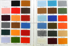 wholesale colorful make to order punch polyester nonwoven fabric felt