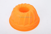 cake007 Pumpkin shape bakeware for making cake big flower silicone kitchen tool