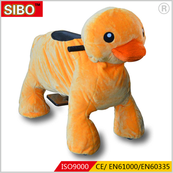 Sibo plush walking animal rides animal rides games toys for kids