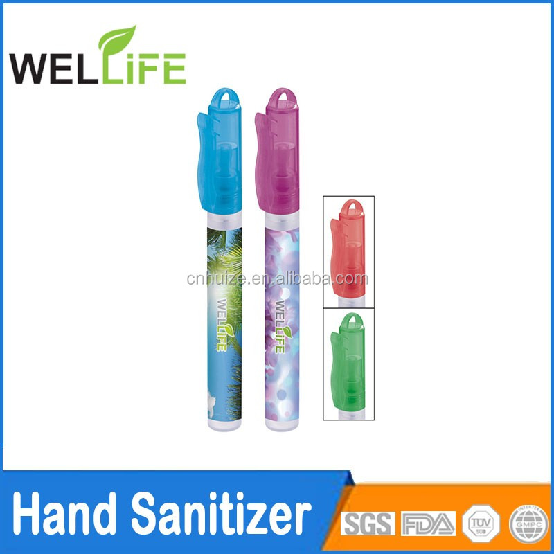 10ml pen spray hand sanitizer with private logo