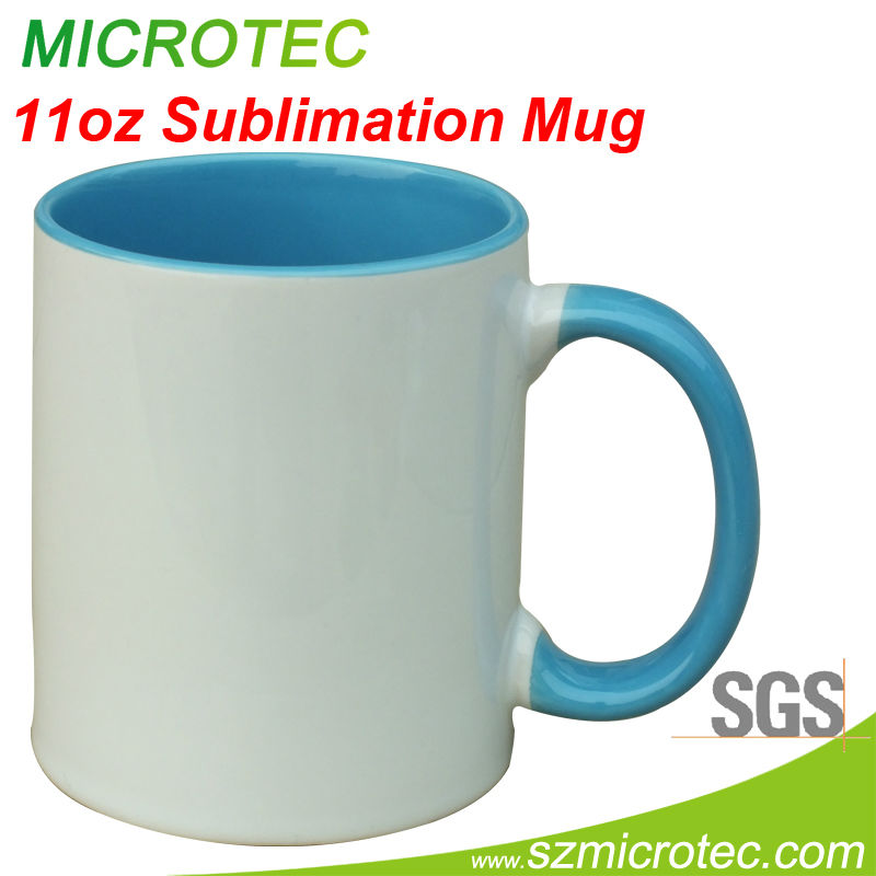 Inner color cup, 11oz sublimation color mug