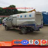 Made in China mini high pressure washing truck for sale