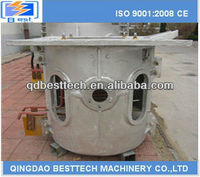 copper smelter, induction furnace