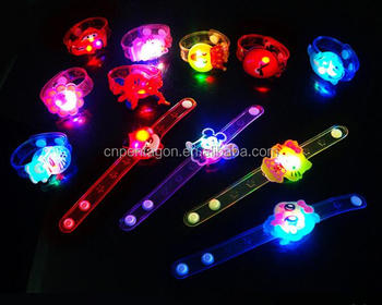 Cheap Led flashing soft rubber wrist band watch for party or concert Christmas