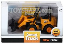 Friction die cast toy cement Truck FCC111708