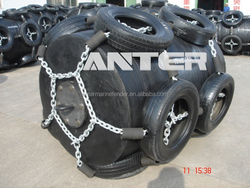 Marine Floating Yokohama Type Rubber Pneumatic Fender Used For Marine