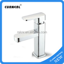 Hot Sell Good Design Brass Square Cheap Bathroom Faucets