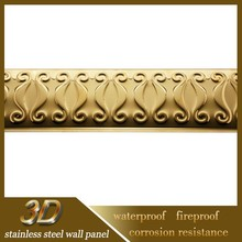 Stainless Steel Walls Decorative Border Designs For Projects