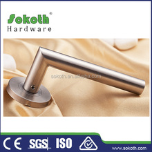 stainless steel 2015 brazil door handle fechaduras factory supply