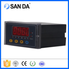 Factory single phase digital only multifunction power meter for U/I/P/PF/F/KWH parameter measure